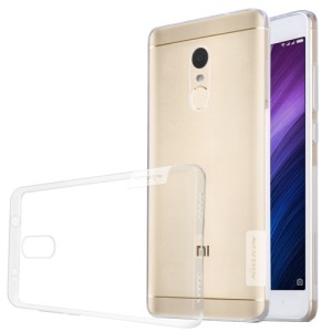 Θήκη XIAOMI Redmi Note 4X NILLKIN Nature Series 0.6mm Πλάτη tpu λευκό