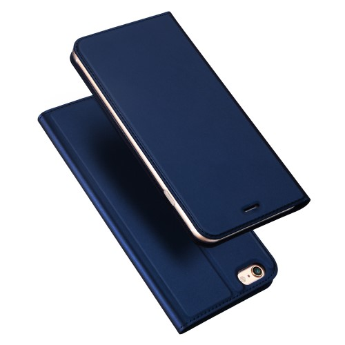 Θήκη iPhone 6 / 6s DUX DUCIS Skin Pro Series Flip Wallet δερματίνη μπλε