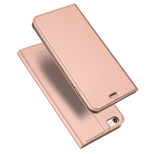 Θήκη iPhone 6 / 6s DUX DUCIS Skin Pro Series Flip Wallet δερματίνη ροζ