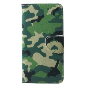 Θήκη HUAWEI P20 OEM σχέδιο Camouflage με βάση στήριξης