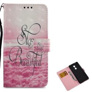 Θήκη XIAOMI Redmi 5 OEM σχέδιο Stay Beautiful με βάση στήριξης