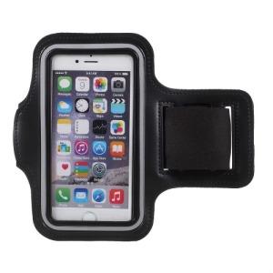 Jogging / Gym / Running Armband για Smartphones 4.7 ιντσων μαύρο