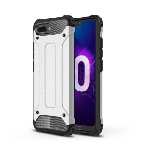 Θήκη HUAWEI Honor 10 OEM Armor Guard Hybrid Πλάτη TPU ασημί