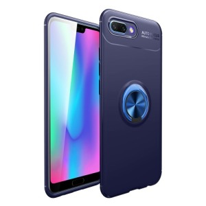 Θήκη HUAWEI Honor 10 OEM Magnetic Ring Kickstand Πλάτη TPU μπλε