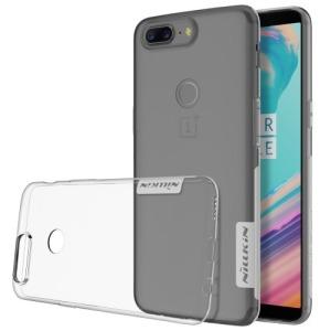 Θήκη OnePlus 5T NiLLkin Nature Series 0.6mm Πλάτη διάφανη λευκό