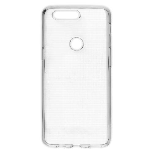 Θήκη OnePlus 5T OEM Ultrathin Silicone Transparent Πλάτη διάφανη λευκό