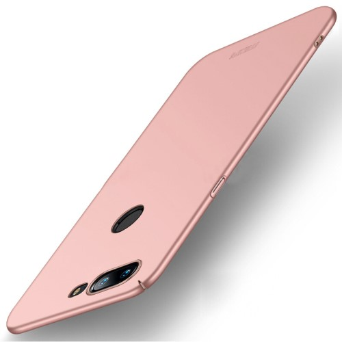 Θήκη OnePlus 5T MOFI Shield Slim Series Πλάτη πλαστική ροζ