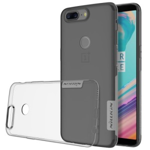 Θήκη OnePlus 5T NiLLkin Nature Series 0.6mm Πλάτη TPU γκρι