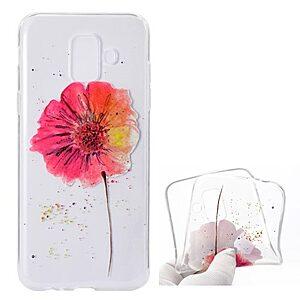 Θήκη SAMSUNG Galaxy A6 (2018) OEM σχέδιο Vivid flower Πλάτη TPU