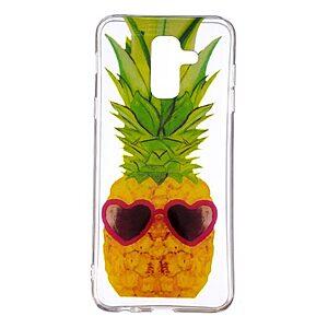 Θήκη SAMSUNG Galaxy A6 Plus (2018) OEM σχέδιο Pineapple with Love Glasses Πλάτη TPU