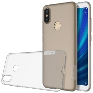 Θήκη XIAOMI Mi A2 / (Mi 6x) NiLLkin Nature Series 0.6mm Πλάτη TPU γκρι