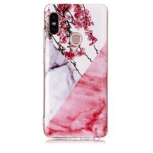 Θήκη XIAOMI Redmi Note 5 OEM σχέδιο Marble Flower Πλάτη TPU