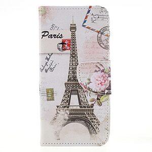Θήκη HUAWEI Honor 9 Lite OEM σχέδιο Eiffel Tower & Stamp με βάση στήριξης