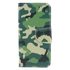 Θήκη HUAWEI Honor 9 Lite OEM σχέδιο Green Camouflage με βάση στήριξης