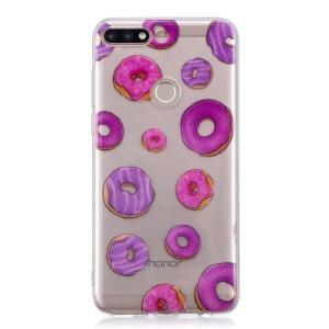 Θήκη HUAWEI Y7 Prime (2018) OEM σχέδιο colorful Doughnuts Πλάτη TPU