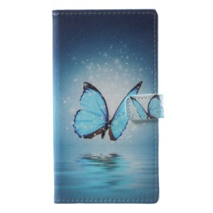 Θήκη NOKIA 8 Sirocco OEM σχέδιο Blue Butterfly με βάση στήριξης