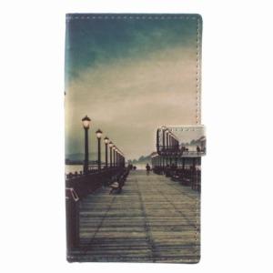 Θήκη NOKIA 8 Sirocco OEM σχέδιο Dock at Sunset με βάση στήριξης