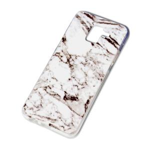 Θήκη SAMSUNG Galaxy J6 (2018) OEM σχέδιο Marble Grey Πλάτη TPU