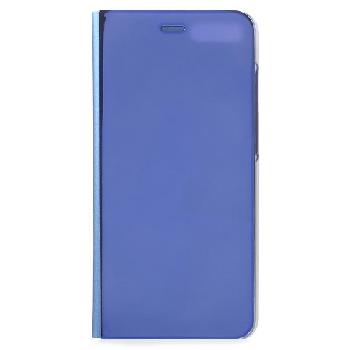 Θήκη XIAOMI Mi Note 3 OEM Mirror Information View Leather Stand Case Flip Window δερματίνη μπλε