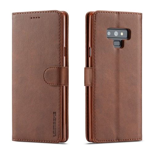 Θήκη SAMSUNG Galaxy Note 9 LC.IMEEKE PU Leather Series με βάση στήριξης