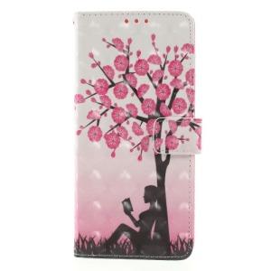 Θήκη SAMSUNG Galaxy Note 9 OEM Girl Reading under the tree με βάση στήριξης