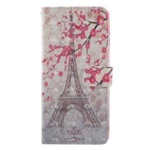 Θήκη SAMSUNG Galaxy Note 9 OEM Eiffel Tower with blossom tree με βάση στήριξης