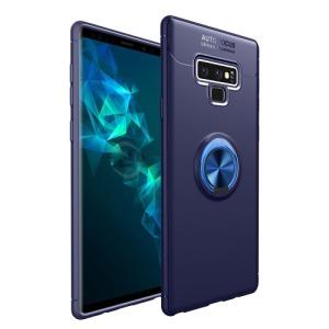 Θήκη SAMSUNG Galaxy Note 9 OEM Magnetic Ring Kickstand πλάτη TPU μπλε
