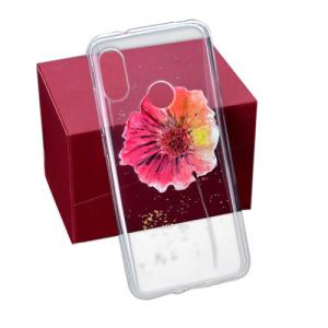 Θήκη XIAOMI Mi A2 Lite OEM σχέδιο Colorful Vivid flower πλάτη TPU