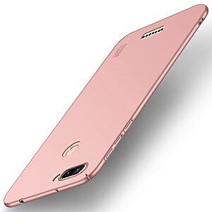 Θήκη XIAOMI Redmi 6 MOFI Shield Slim Series πλάτη από σκληρό πλαστικό ροζ χρυσό