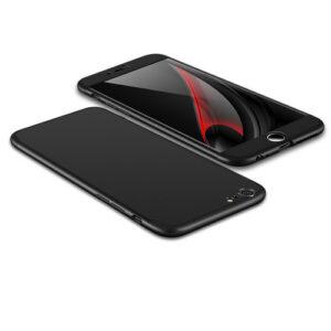 Θήκη GKK Full body Protection 360° από σκληρό πλαστικό για iPhone 6 Plus / 6s Plus  μαύρο