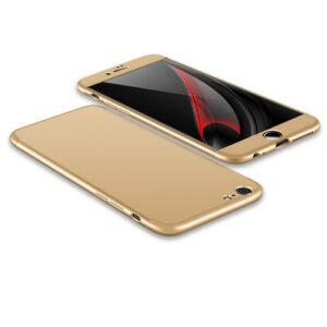 Θήκη GKK Full body Protection 360° από σκληρό πλαστικό για iPhone 6 Plus / 6s Plus  χρυσό