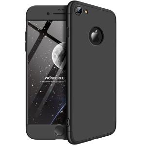 Θήκη GKK Full body Protection 360° από σκληρό πλαστικό για iPhone 7 μαύρο