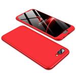 Θήκη GKK Full body Protection 360° από σκληρό πλαστικό για Huawei Honor 10 κόκκινο