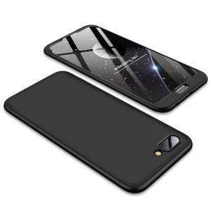 Θήκη GKK Full body Protection 360° από σκληρό πλαστικό για Huawei Honor 10 μαύρο