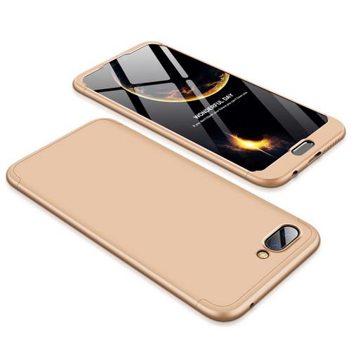 Θήκη GKK Full body Protection 360° από σκληρό πλαστικό για Huawei Honor 10 χρυσό