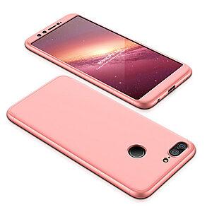 Θήκη GKK Full body Protection 360° από σκληρό πλαστικό για Huawei Honor 9 Lite ροζ χρυσό