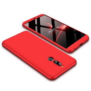 Θήκη GKK Full body Protection 360° από σκληρό πλαστικό για Huawei Mate 10 Lite κόκκινο