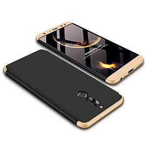 Θήκη GKK Full body Protection 360° από σκληρό πλαστικό για Huawei Mate 10 Lite μαύρο / χρυσό