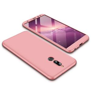 Θήκη GKK Full body Protection 360° από σκληρό πλαστικό για Huawei Mate 10 Lite ροζ χρυσό
