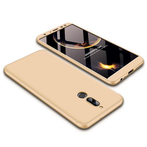 Θήκη GKK Full body Protection 360° από σκληρό πλαστικό για Huawei Mate 10 Lite χρυσό