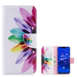 Θήκη Huawei Mate 20 Lite OEM σχέδιο Colorful Petals με βάση στήριξης