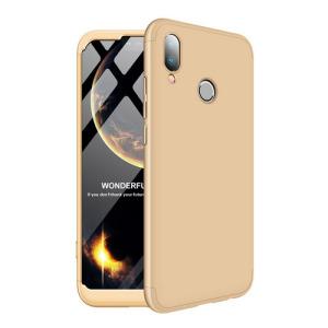 Θήκη GKK Full body Protection 360° από σκληρό πλαστικό για Huawei Honor P20 Lite χρυσό