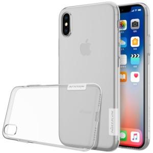Θήκη iPhone XS NiLLkin Nature Series 0.6mm πλάτη διάφανη