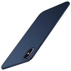 Θήκη iPhone XS Max MOFI Shield Slim Series πλάτη από σκληρό πλαστικό μπλε