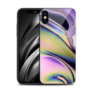 Θήκη iPhone XS Max NXE Tempered Glass Streamer Series - Style A πλάτη TPU