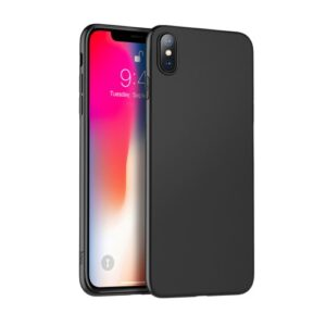 Θήκη iPhone XS Max HOCO Fascination Series Matte Ultra Thin πλάτη TPU μαύρο