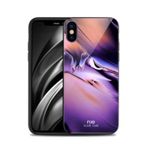 Θήκη iPhone XS NXE Tempered Glass Streamer Series - Style B πλάτη TPU