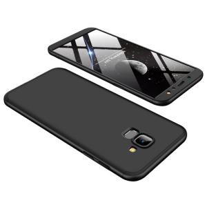 Θήκη GKK Full body Protection 360° από σκληρό πλαστικό για Samsung Galaxy A6 (2018) μαύρο