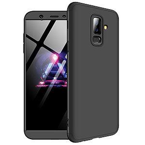 Θήκη GKK Full body Protection 360° από σκληρό πλαστικό για Samsung Galaxy A6 Plus (2018) μαύρο