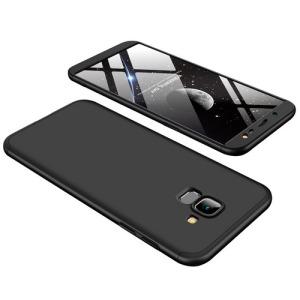 Θήκη GKK Full body Protection 360° από σκληρό πλαστικό για Samsung Galaxy J6 (2018) μαύρο